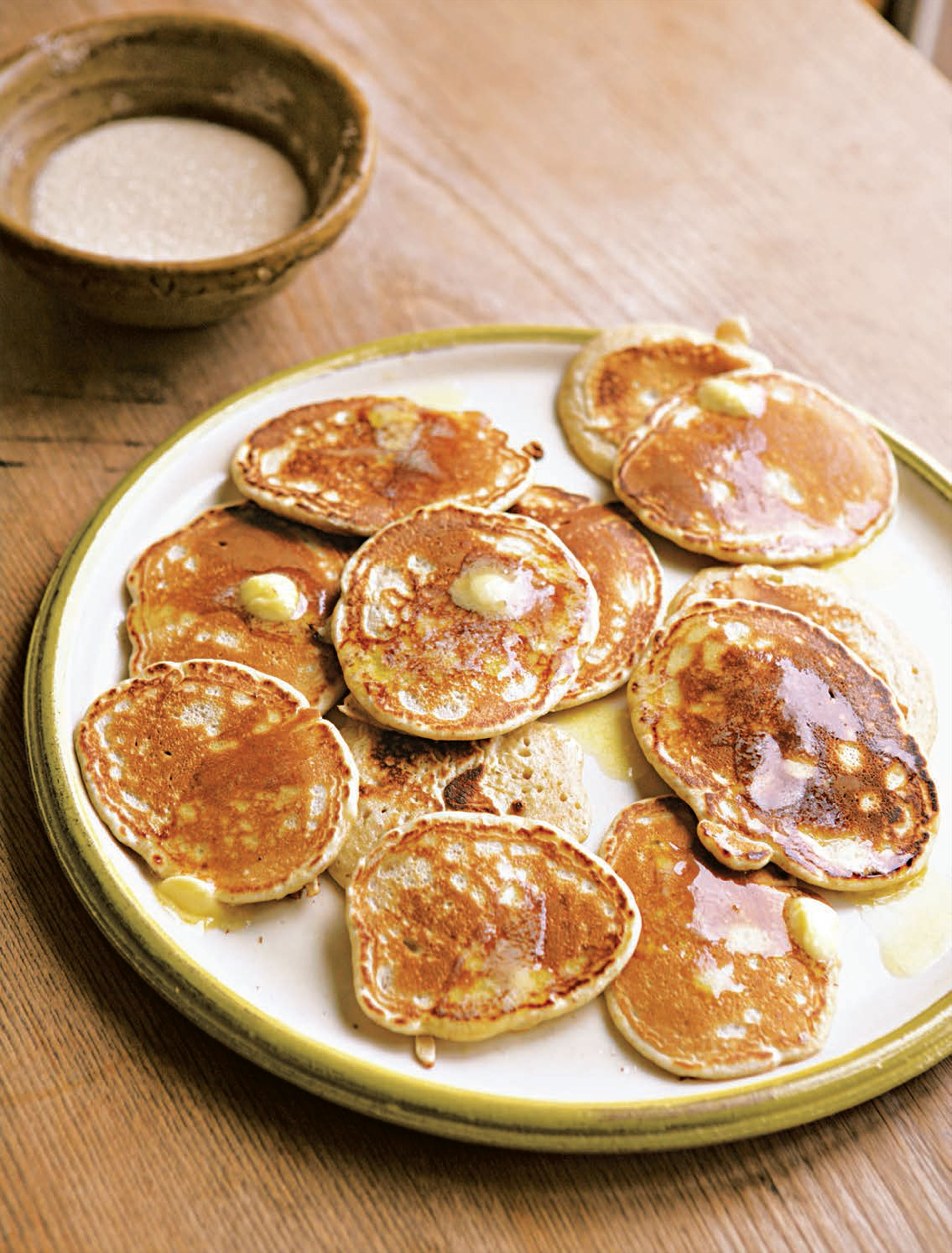 Wholemeal drop scones